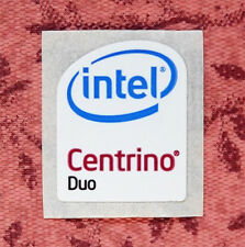 Intel Centrino Duo Sticker 16 x 19.5mm Case Badge USA Seller