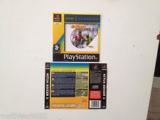 Jaquette Avant-Arriere/Front-Back Cover Actua Soccer 3 Playstation 1