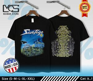 Vtg Savatage Poets and Madmen Tour band rare tee shirt USA SIZE S-3XL
