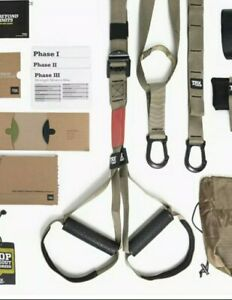 TRX FORCE KIT TACTICAL A 360 Degree Solution Athletes Workout Suspension W/DVD