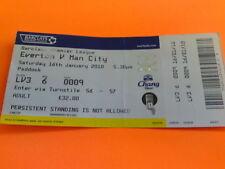Everton Football League Fixture Tickets & Stubs (2004-Now)