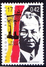 Belgium MNH, Willy Brandt, German statesman and politician