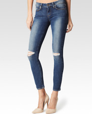 PAIGE VERDUGO ANKLE SKINNY JEANS IN KEIRAN DESTRUCTED W27 UK 8/10