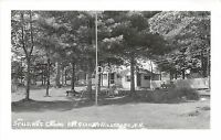 B9/ Hillsboro New Hampshire NH Photo RPPC 2 Postcards Spalding's Cabins Interior