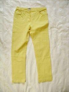 @ BASSET @ Jeans Frauen gelb Size M W30 L28 UK 10 US 8 NEU klassisch