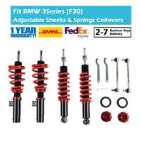 30 Levels Adjustable Coilover Kit Fit BMW 3 Series F30 F31 F80 320d 328i 335i