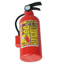 Juguete pistola de agua de chorro Extintor de incendios de plastico rojo N6G3