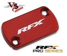 RFX Front Brake Reservoir Cover Cap HONDA CR250 92-07 CRF250 04-14 CRF450 RED