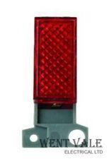 Haga clic minigrid md280 - 250 V Rojo indicadoras de neón módulo Nuevo En Caja
