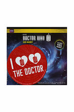 NEW BBC I HEART HEART THE DOCTOR LOVE DR WHO TARDIS RED VINYL DIE CUT CAR MAGNET