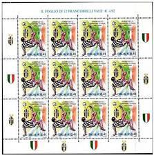 Italia 2002 Minifoglio Juventus  Campione d'Italia MNH