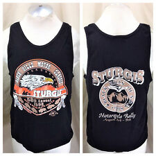 Vintage 1998 Sturgis Motorcycle Rally (Medium) 58th Annual Graphic Tank Top