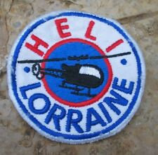 208h PATCH HELICOPTERE  HELI LORRAINE .