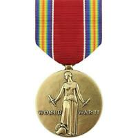 Genuine U.S. FULL SIZE MEDAL: WWII VICTORY