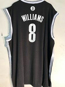 Adidas NBA Jersey BROOKLYN Nets Deron Williams Black sz 4X