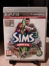 The Sims 3 Animali & Co. Ps3 PlayStation 3 Nuovo New PAL ITA EA Italiano Sony