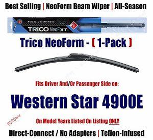 (Qty 1) Premium NeoForm Wiper Blade fits 1997-2002 Western Star 4900E - 16200