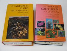California Flora Botany Reference Plant Species Habitat Communities Vintage '70s