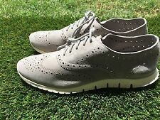 Women's Cole Haan ZeroGrand Wing Oxford D44059 Ironstone Suade Size 10.5
