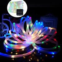 8 Models Solor Power String Fairy Light Lamp Xmas Party Waterproof Garden Decor