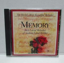 Reader's Digest World's Most Beautiful Melodies MEMORY Andrew Lloyd Webber