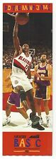 CLYDE DREXLER Avia Portland Trailblazers Do The Mind Jam Ticket