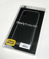 OtterBox Clearly Protected Skin Case Cover for iPhone Xs / X – Clear