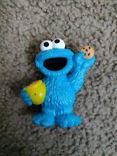 Sesame Street Workshop Cookie Monster PVC Figure Hasbro 2010 Cooke Jar Rare