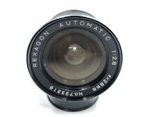 Rexagon Automatic 28mm 1:2.8 lens Konica AR mount