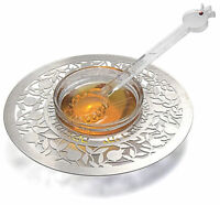 Rosh HaShanah Honey Dish with Spoon - Jewish New Year Holiday - Made in Israel