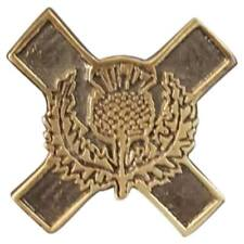 New Scottish Glengarry Cap Badges Thistle Emblem Antique Finish/Army Cap Badge