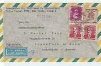 brasil 1958  airmail stamps cover ref r14655