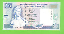 20 CYPRUS POUNDS 2001 -  UNCirculated.