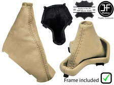 BEIGE  LEATHER AUTOMATIC GEAR+PLASTIC FRAME+HANDBRAKE GAITER FOR FREELANDER 2