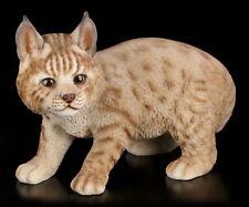 Figurine de jardin - LYNX bébé baby sur Entdeckungstour - sauvage LUX chats