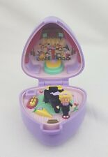 Vintage  Polly Pocket Perfect Piano Recital ring and  Case , Doll Excellent