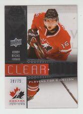 (55193) 2014-15 UPPER DECK TEAM CANADA JUNIORS KERBY RYCHEL CLEAR #PFN-21(38/75)