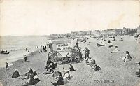POSTCARD  SUSSEX    HOVE   Beach