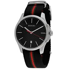 Gucci YA126321 Men's G-Timeless Black Quartz Watch