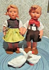 Hummel Boy And Goose Girl From Germany All Origanal Clothes W/Tags