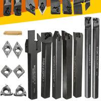 10/12/16mm SCLCR06 Lathe Turning Tool Holder Boring Bar&CCMT MGMN Carbide Insert