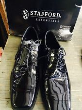 Stafford Essentials Tuxedo Black Dress Formal Prom Shoes Mens 13M