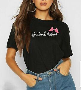 Little Mix T-Shirt Galantis David Guetta Heartbreak Anthem Album Fashion T-Shirt