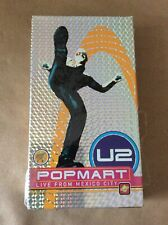 U2- PopMart, Live from Mexico City, VHS, 1995.