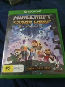Minecraft : Story Mode   Microsoft Xbox One XB1   xbox 1 mine craft free post
