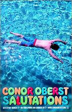 CONOR OBERST Salutations 2017 Ltd Ed RARE Poster +FREE Indie Poster! BRIGHT EYES