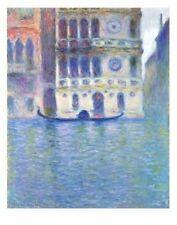 Palazzo Dario 1908 Claude Monet Art Poster 11x14