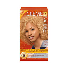 Creme of Nature Exotic Shine Color Argan Oil Treatment Permanent Gray Coverage