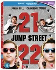 21 JUMP STREET / 22 JUMP STREET - NEW / SEALED - BLU RAY