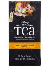 disney wonderland 20 tea bags Mad Tea Party blend official unbirthday tea new
